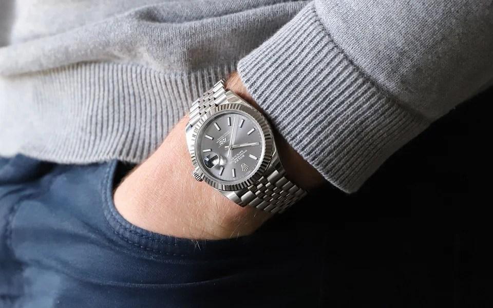 montre de luxe Rolex pour homme