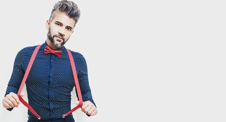 Les bretelles pour homme : un look urbain, stylé, chic