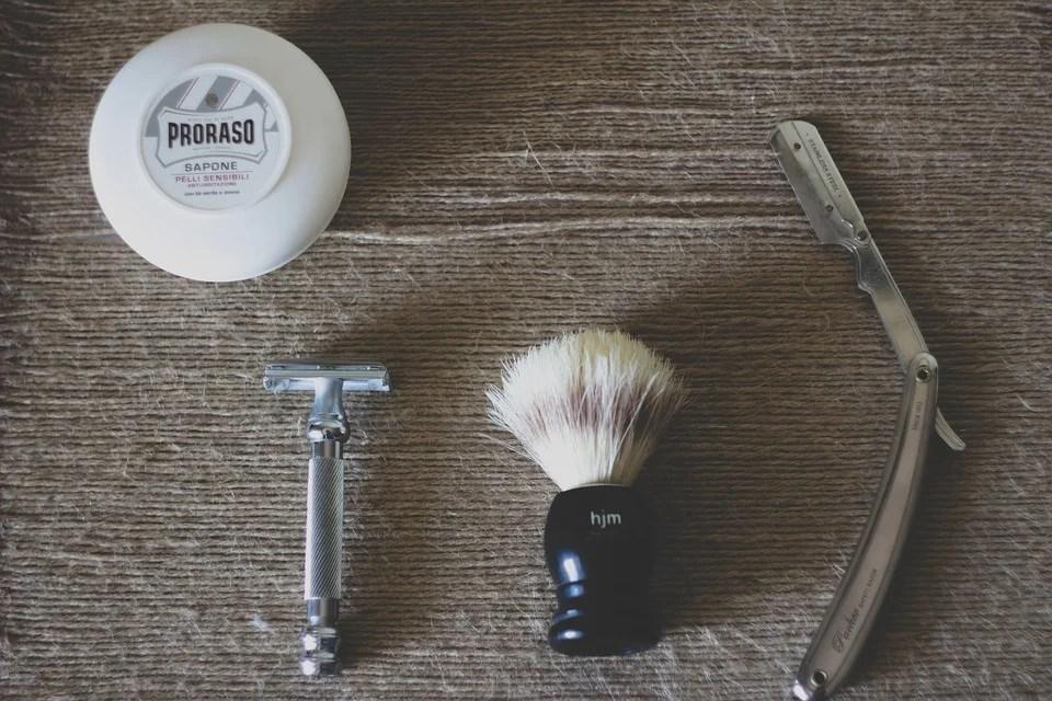 savon à barbe pour un rasage à l'ancienne