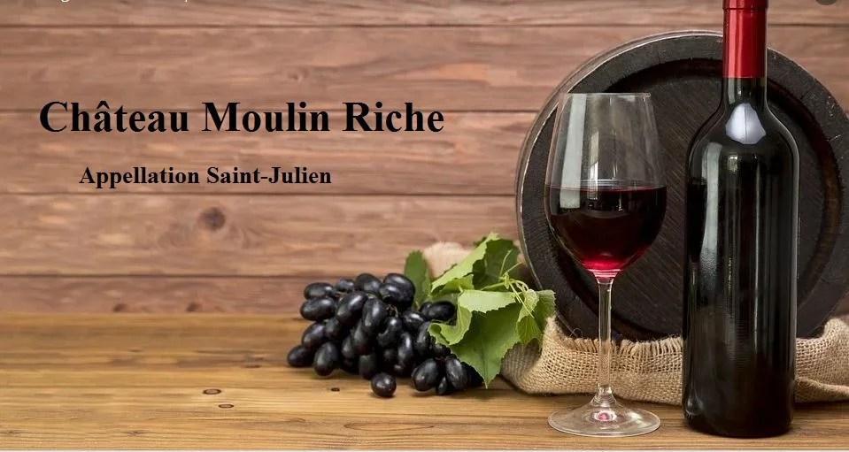 Le château Moulin Riche, un Saint-Julien à part
