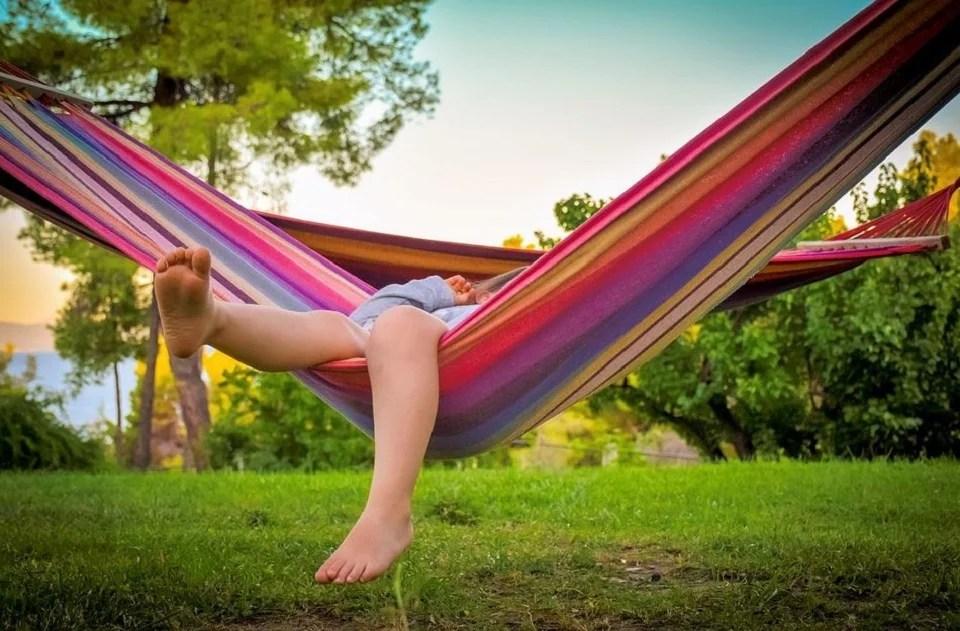 Hamac et relaxation font bon ménage