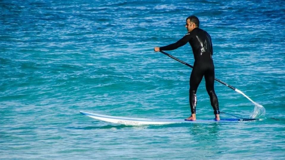 Le paddle, une bonne alternative au surf