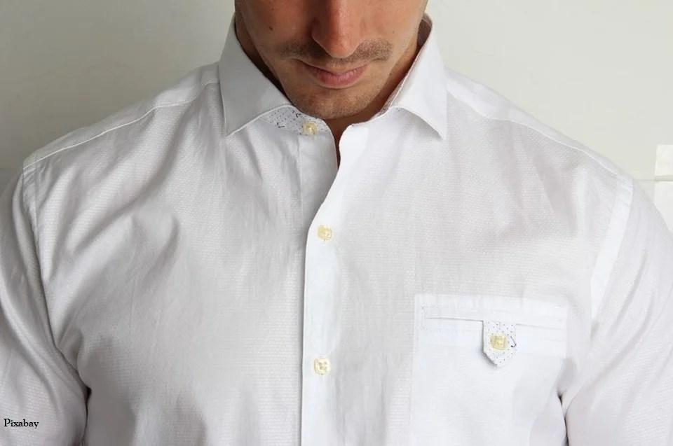 Chemise blanche homme, l'intemporelle