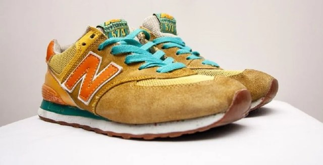 Sneaker vintage New Balance homme 574
