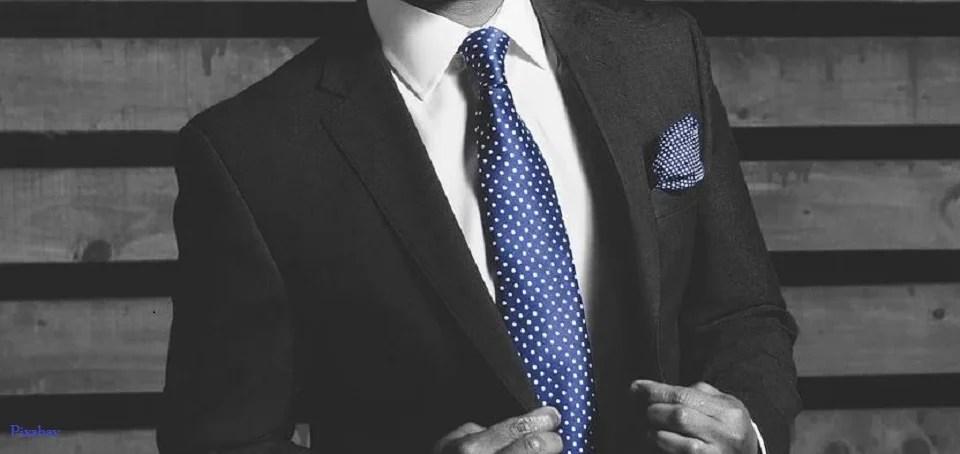 Cravate homme et style