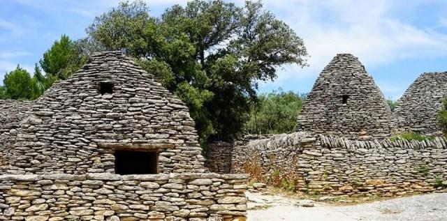 Village de bories et ses enclos