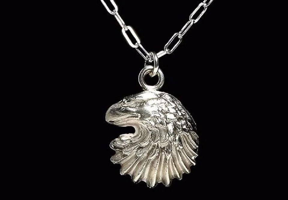 collier homme viril en maille cheval