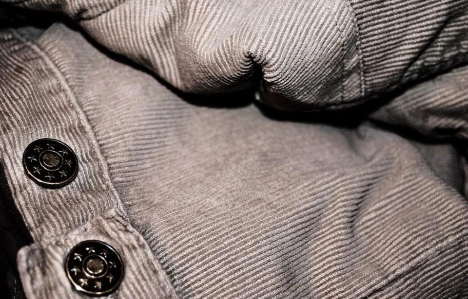 pantalon velours homme