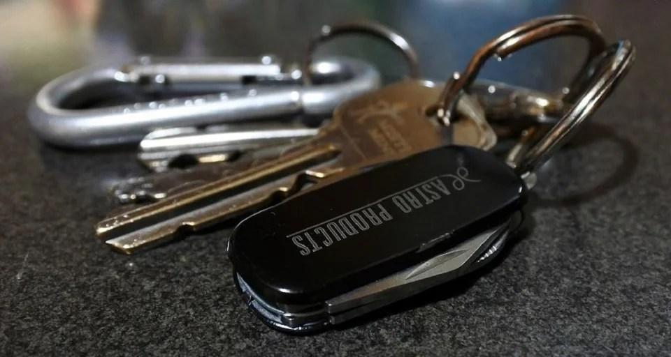Porte clé homme en mode futé