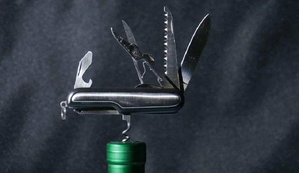 un couteau suisse multifonction, ça a du bon