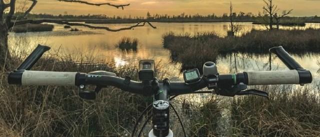 Système de guidage idéal pour sortie vélo