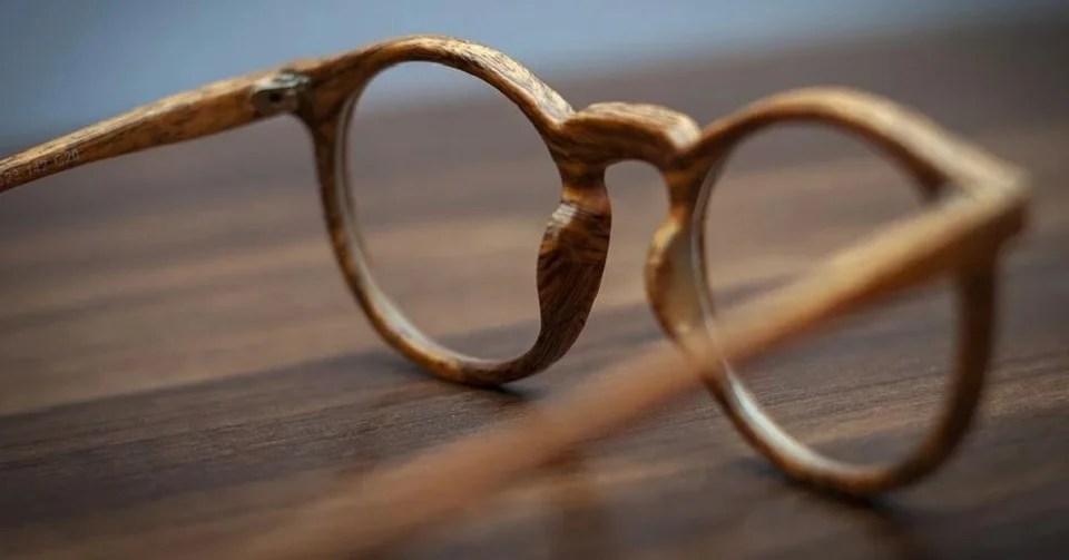 lunettes de soleil en bois pour homme classe