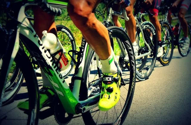Chaussettes stylées pour cyclistes