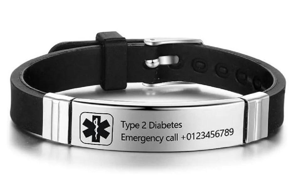 le bracelet d'identité médicale, un bijou médical astucieux