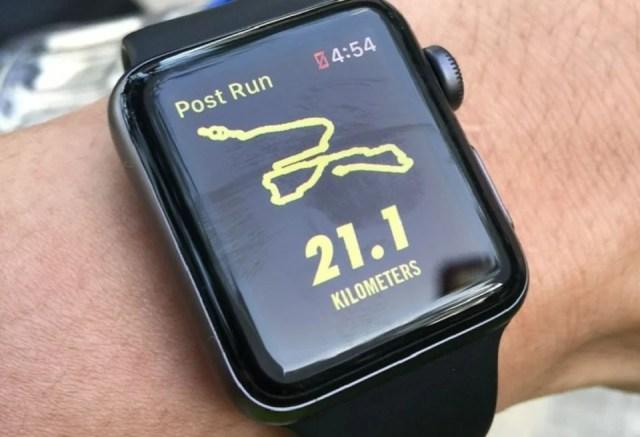 Montre à GPS intégré