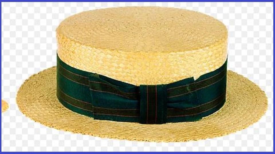 Canotier homme, le chapeau de paille tressée des adeptes du boater hat