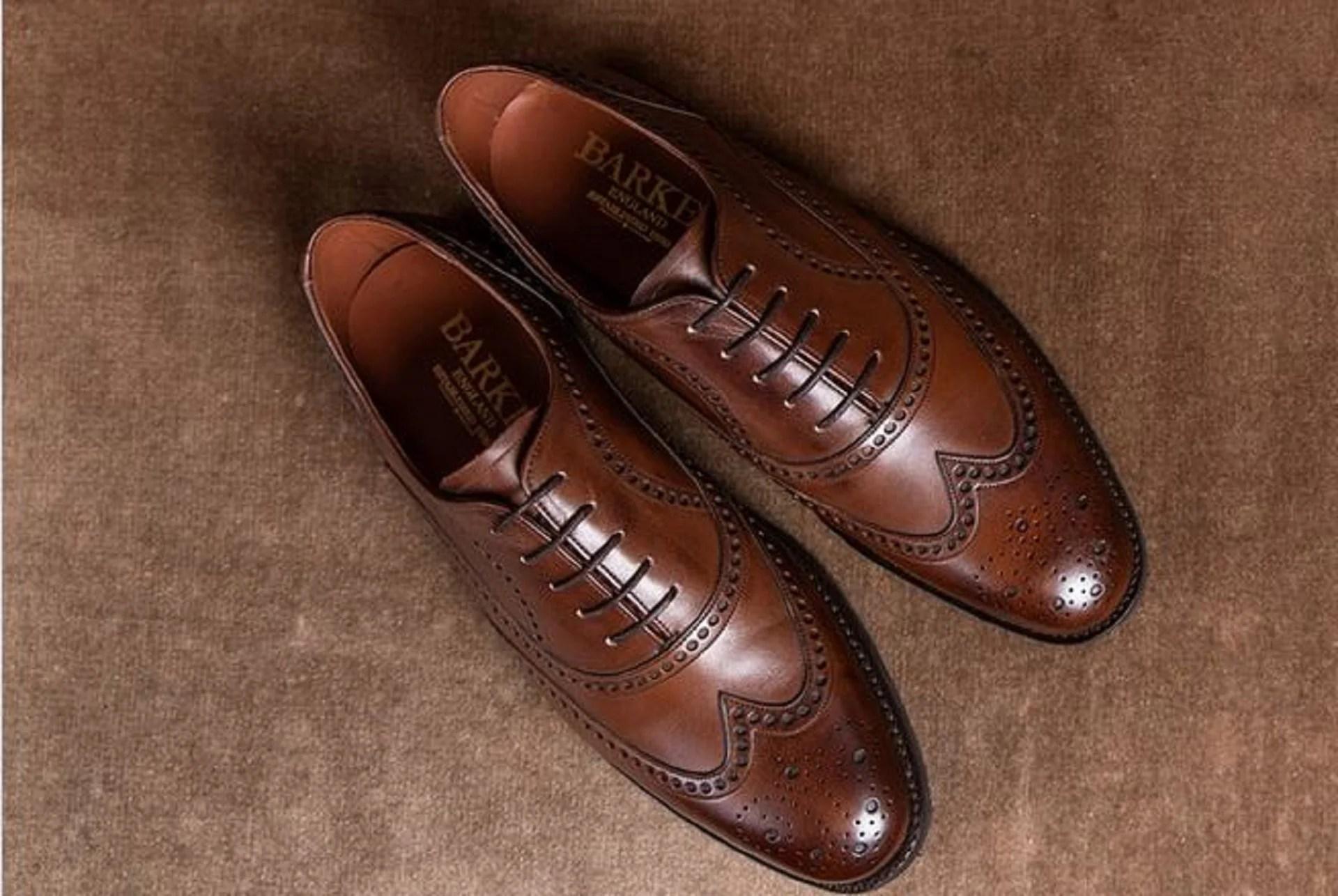 Brogues homme, la chaussure de ville à trou