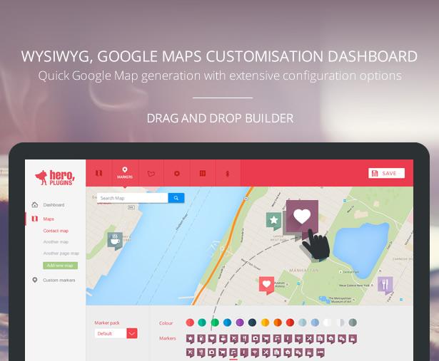 Hero Maps Premium - Responsive Google Maps Plugin - 5