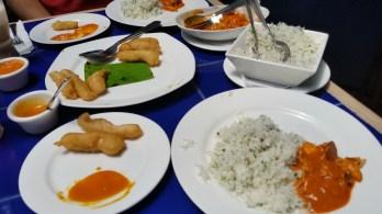 Malaka Spice food.