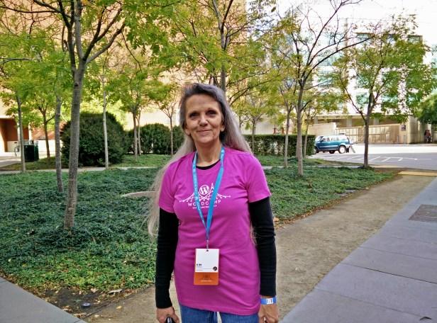 Kim at WCSF