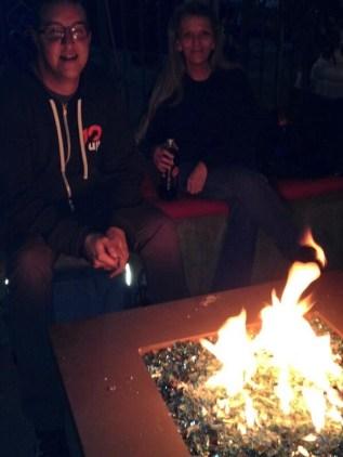 WordCamp Phoenix Friday Night Firepit