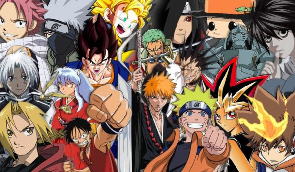All Anime series characters