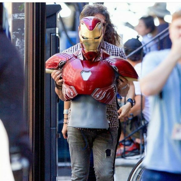 Iron Man's infinity war armor suit