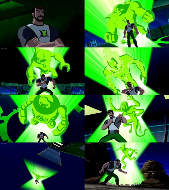 Ultimate Ben 10000 transformation