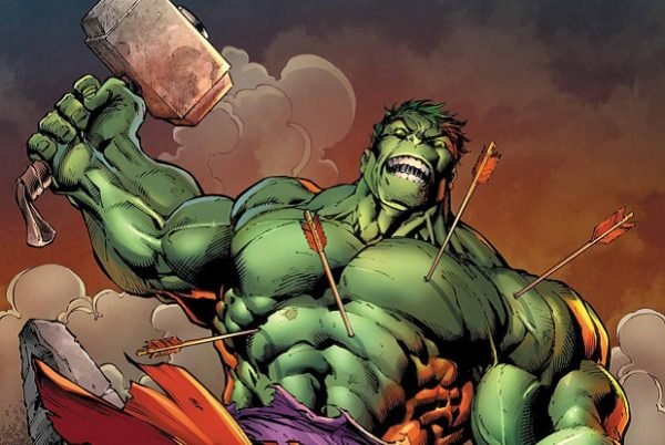 Hulk with thor's hammer