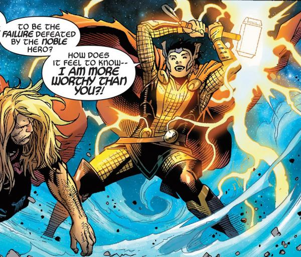 top 10 superhero characters who can lift thor 39 s hammer