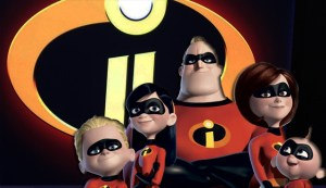 The Incredibles 2 all Parr family