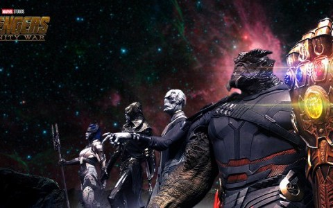 Black Oder team from Avengers Infinity War promotional preview