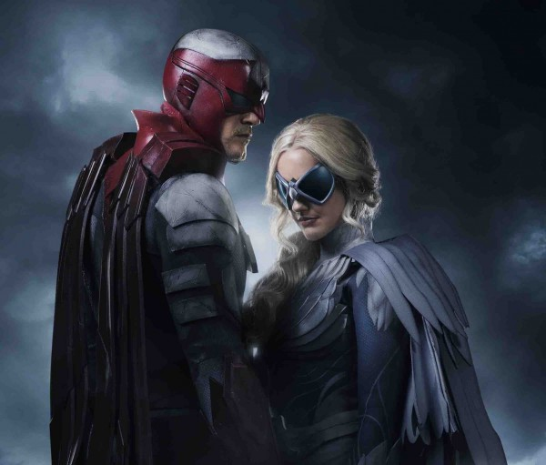 Hawk & Dove in DC's Titans 2018