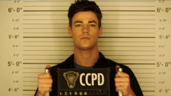Barry Allen in the Flash S04E10 the Trial of the Flash