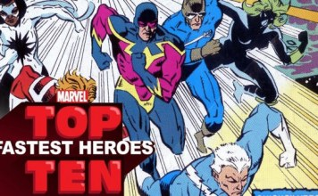 Top 10 Fastest Marvel superheroes
