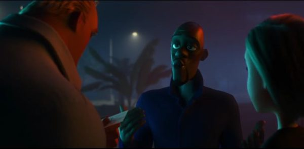 Samuel L. Jackson as Frozen in Incredibles 2