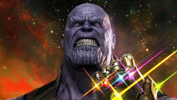 Thanos with infinity gauntlet