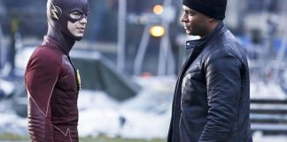 The Flash and John Diggle