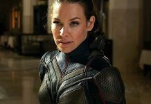 Evangeline Lilly as Wasp in Ant-Man and the Wasp movie