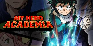 My Hero Academia Season 3 Deku