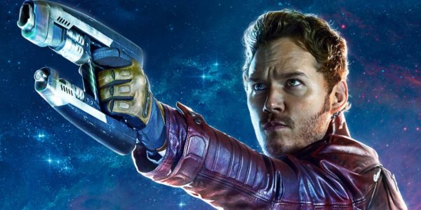 Peter Quill as star lord