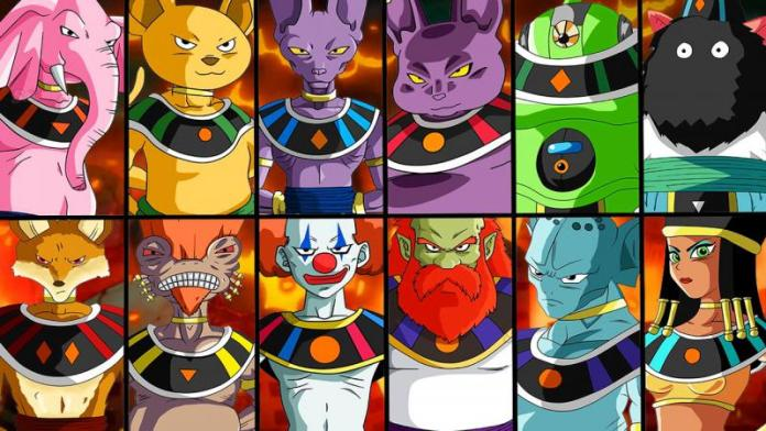 Dragon ball super strongest powerful god of destruction