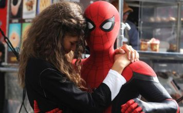 Spider-man: Far From Home set photo suit