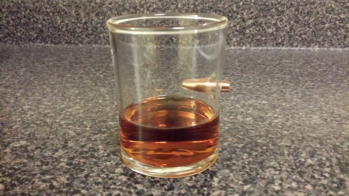 Dan's Bullet Whiskey Glass