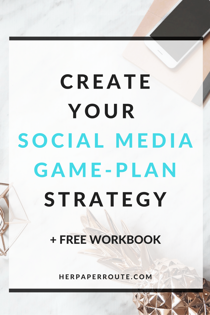 Creating Your Social Media Game-Plan - Passive Income - Affiliates - Content - Social Media - Management - SEO - Promote | www.herpaperroute.com