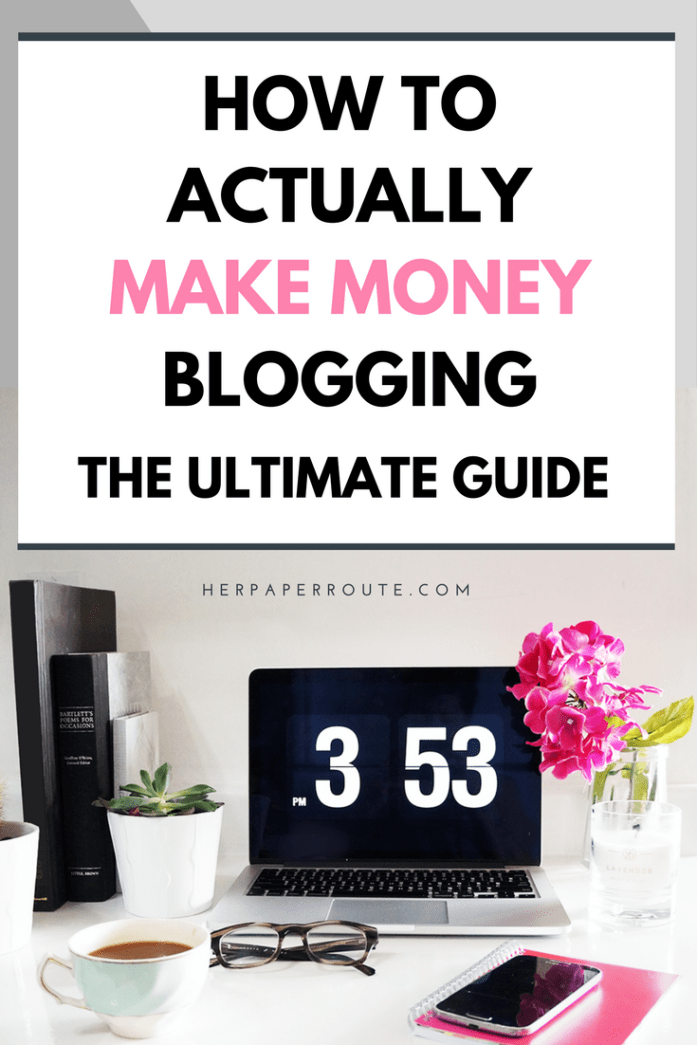 How To Actually Make Money Blogging - How To Make Money Online-Profitable Blog-Affiliate Marketing - Ecourse Course Training How To Blog - Work From Home Sahm - How To Actually Make Money Blogging - Make money online - Sales - Profitable blog - Passive income - Training - How To Start A Blog - How to blog - Work from home - SAHM - Tools And Resouces - Passive Income - Affiliates - Content - Social Media - Management - SEO - Promote | www.herpaperroute.com