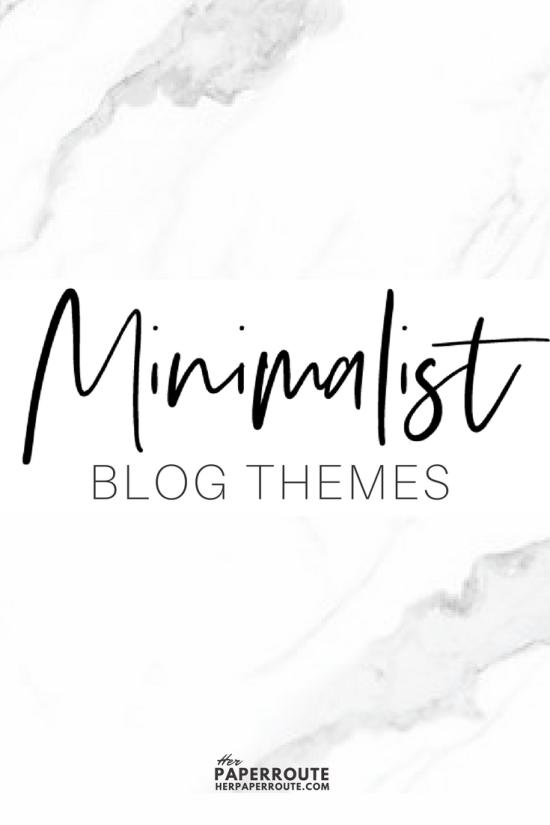 Minimalist blog themes wordpress themes - 10 Stunningly Beautiful & Unique Minimalist Themes For Your WordPress Blog | herpaperroute.com