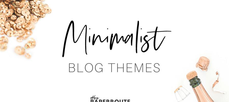 Minimalist blog themes wordpress themes - 10 Stunningly Beautiful & Unique Minimalist Themes For Your WordPress Blog   herpaperroute.com