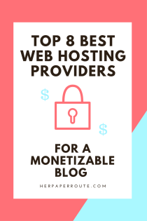 Top 8 Best Easy To Use Web Hosting Service Providers For Your Website - Make Money Blogging - Passive Income - Affiliates - Content - Social Media - Management - SEO - Promote | www.herpaperroute.com