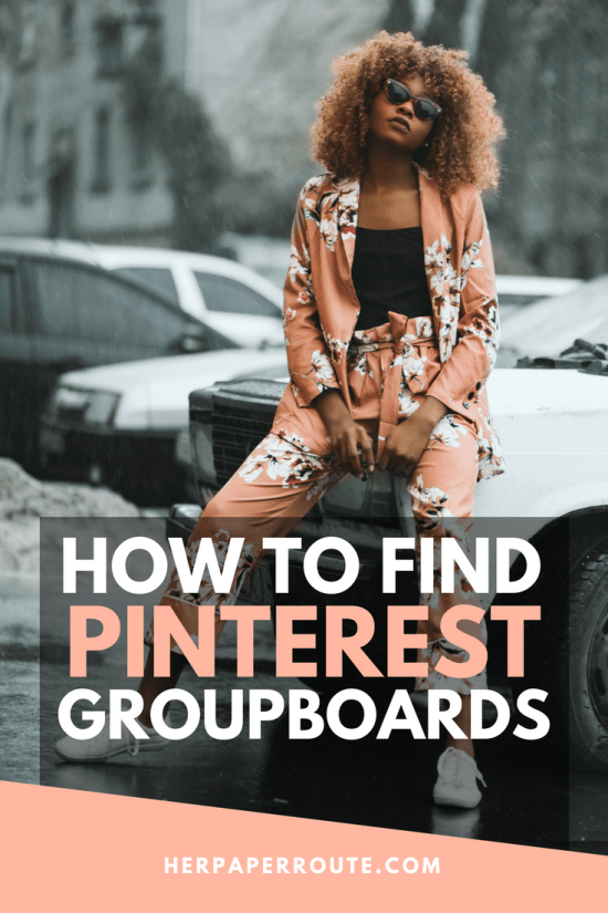 how to find Pinterest group boards herpaperroute